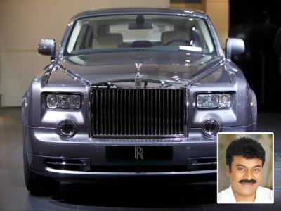 Chiranjeevi Rolls Royce Car Price