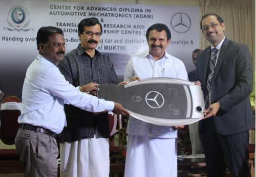 Mercedes donates C-Class