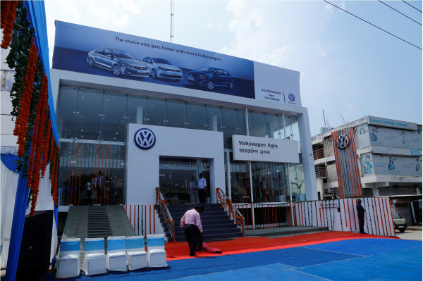 Volkswagen India Inaugurates A New Dealership In Agra