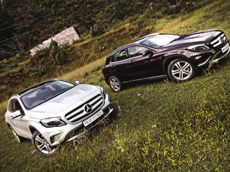 Mercedes Benz Gla Class Images Photos And Picture Gallery 205996 Cartrade