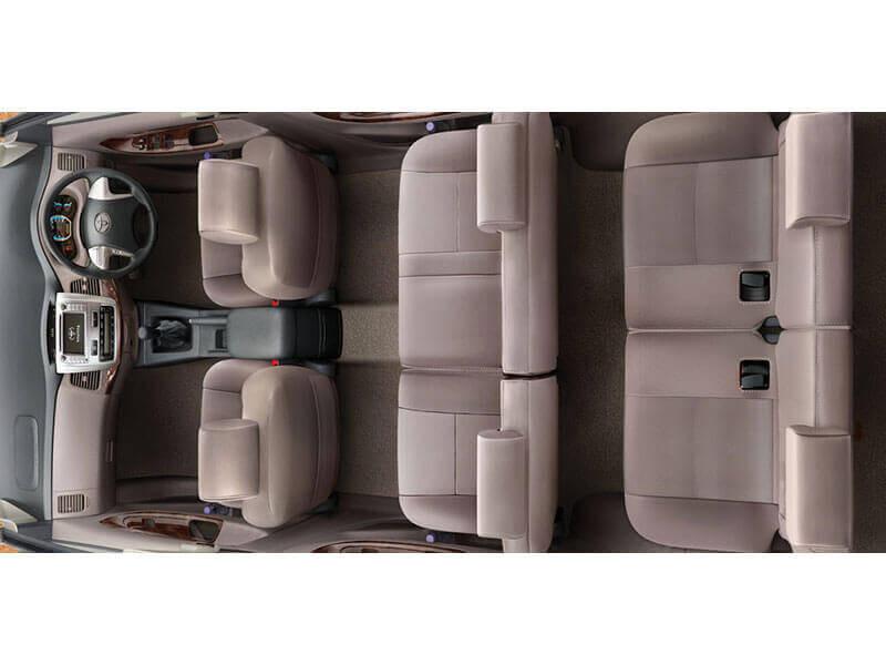 Toyota innova photos interior exterior car images cartrade for Innova interior 8 seater